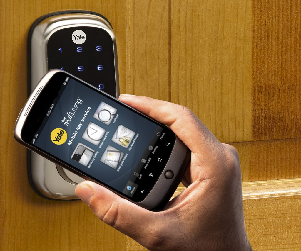 Image gallery keyless entry for Keyless entry system